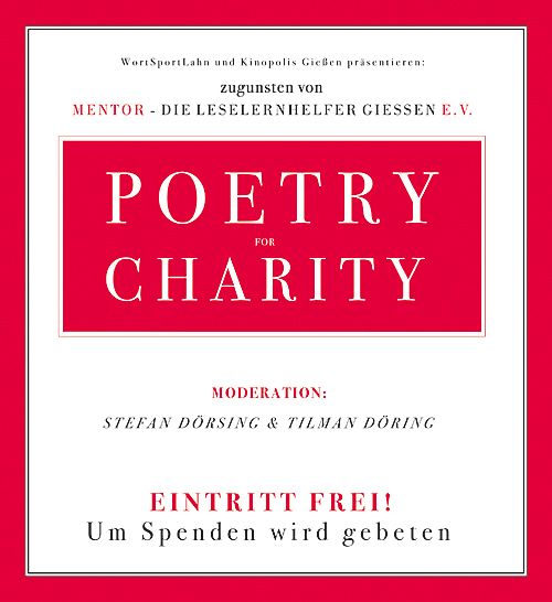 POETRY FOR CHARITY